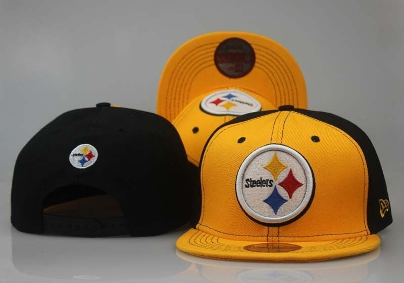 2018 NFL Pittsburgh Steelers Snapback 3 hat LTMY