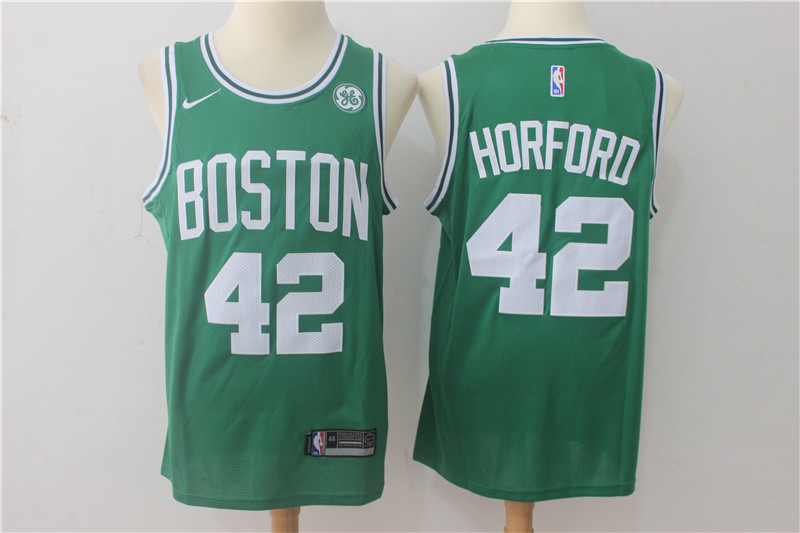 Men Boston Celtics 42 Horford Green Game Nike NBA Jerseys