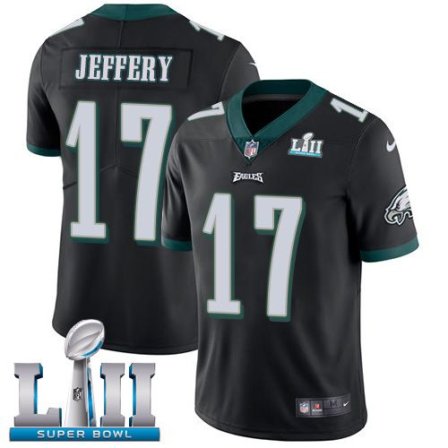 Youth Philadelphia Eagles 17 Jeffery Black Limited 2018 Super Bowl NFL Jerseys