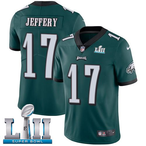 Youth Philadelphia Eagles 17 Jeffery Green Limited 2018 Super Bowl NFL Jerseys