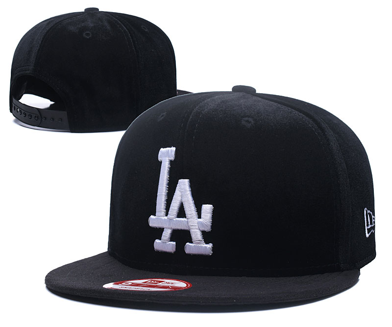 2018 MLB Los Angeles Dodgers Snapback hat