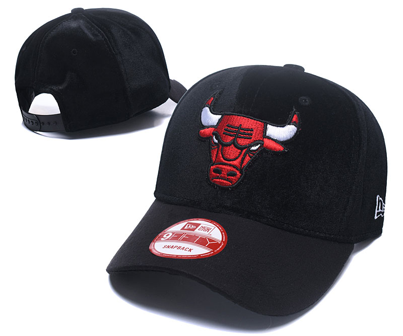 2018 NBA Chicago Bulls Snapback hat
