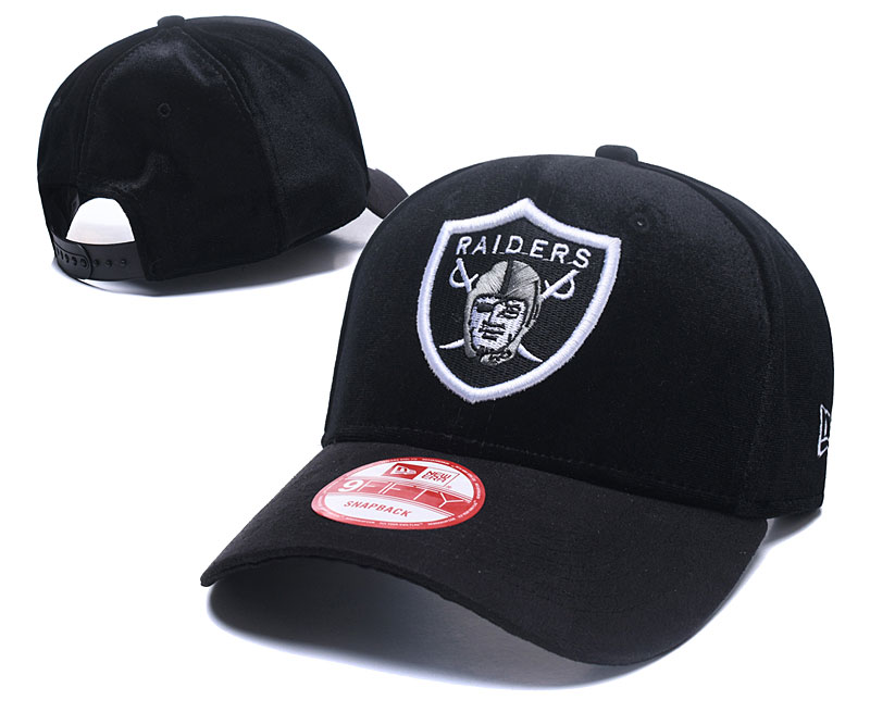 2018 NFL Oakland Raiders Snapback hat