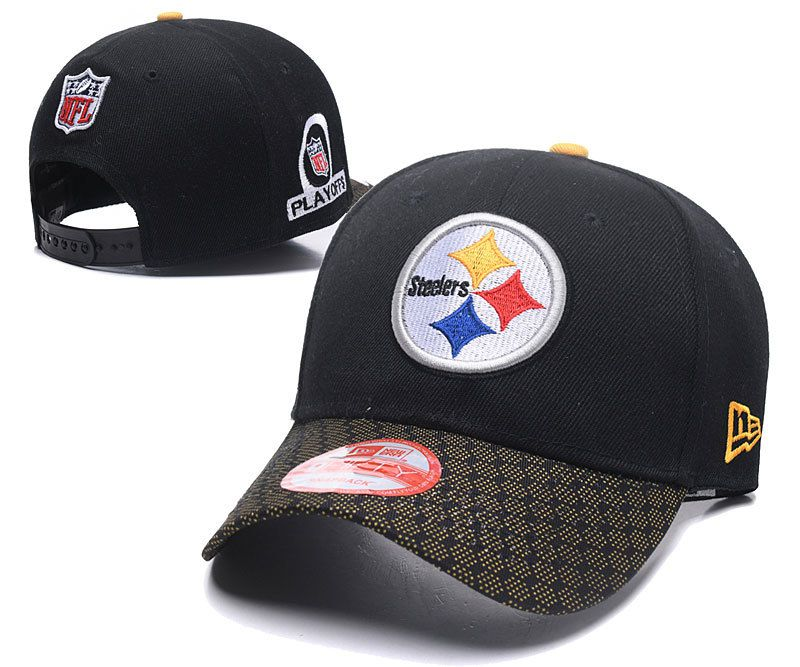 2018 NFL Pittsburgh Steelers A duck tongue hat DFmy1