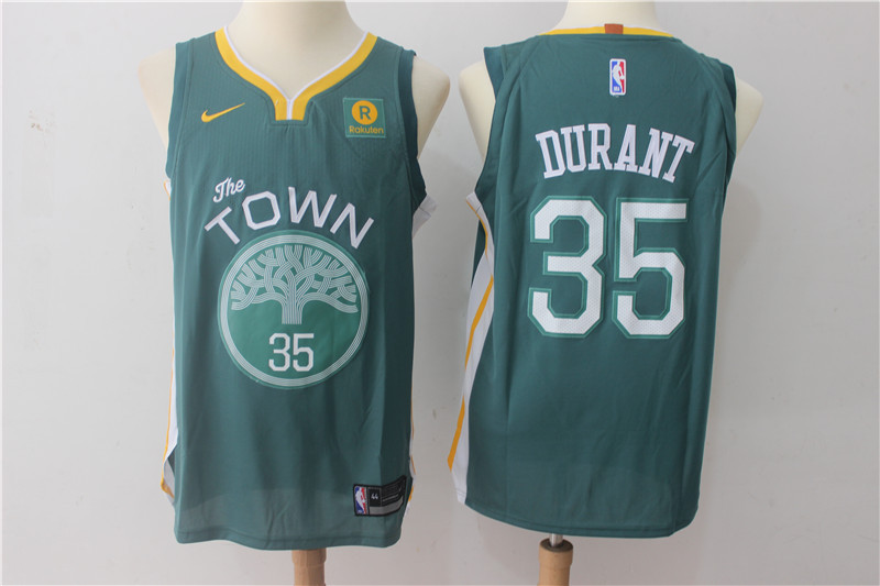 Men Golden State Warriors 35 Durant Green Game Nike NBA Jerseys