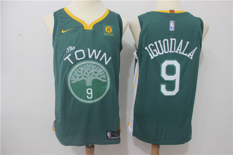 Men Golden State Warriors 9 Iguodala Green Game Nike NBA Jerseys