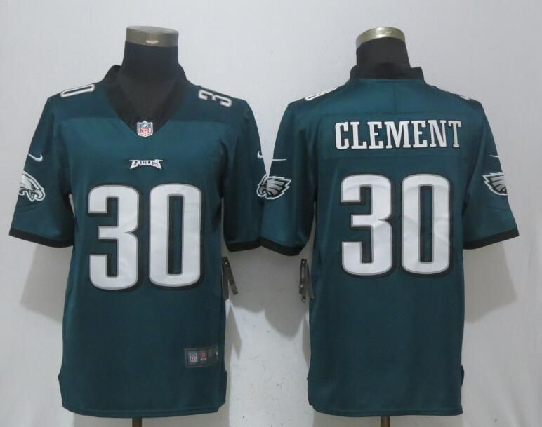 Men Philadelphia Eagles 30 Clement Green 2017 Vapor Untouchable NEW Nike Limited Playey NFL Jerseys