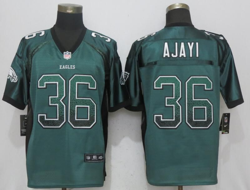 Men Philadelphia Eagles 36 Ajayi Drift Fashion Green NEW Nike Elite NFL Jerseys