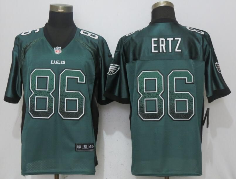 Men Philadelphia Eagles 86 Ertz Drift Fashion Green NEW Nike Elite NFL Jerseys