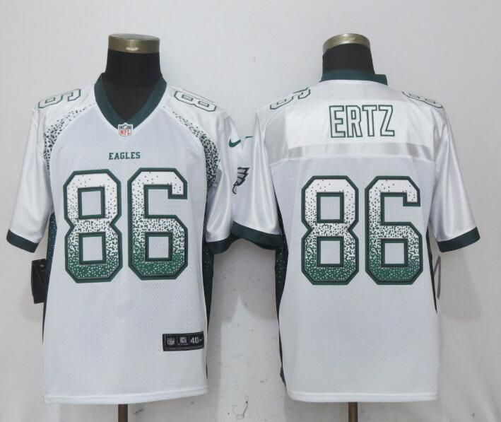 Men Philadelphia Eagles 86 Ertz Drift Fashion White NEW Nike Elite NFL Jerseys