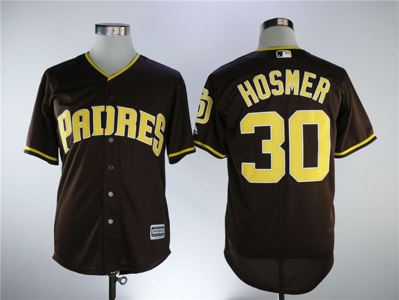 Men San Diego Padres 30 Hosmer Coffee Game MLB Jerseys