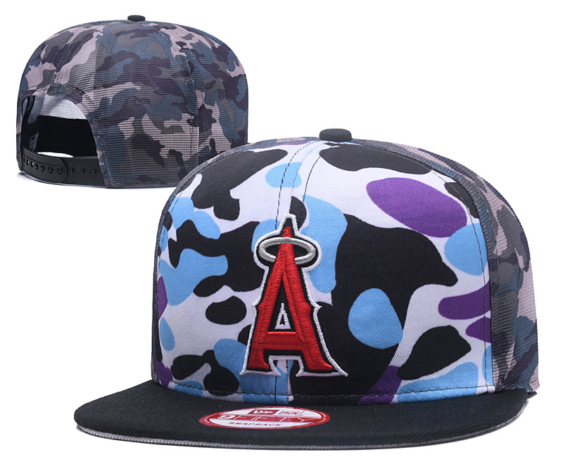 2018 MLB Los Angeles Angels Snapback hat 426