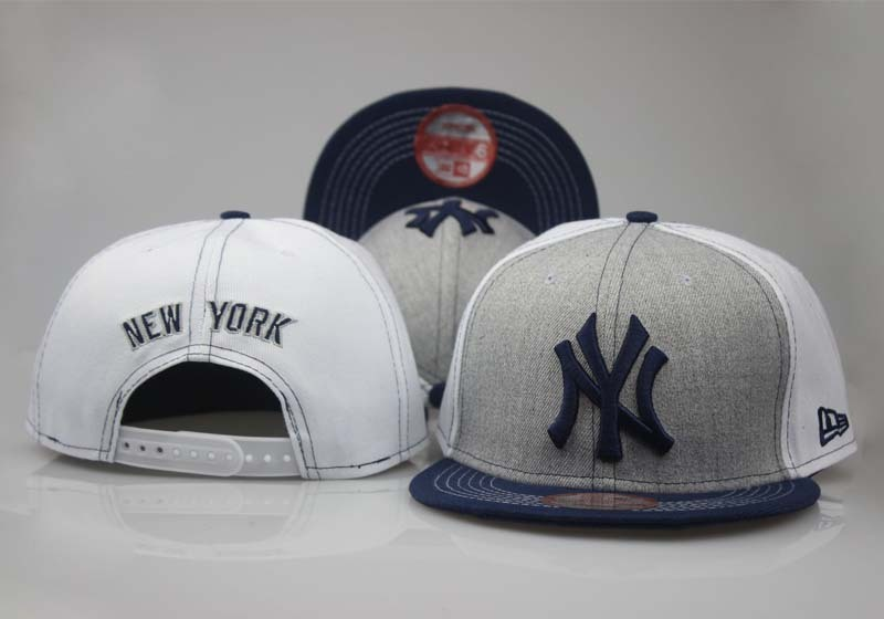 2018 MLB New York Yankees Snapbacks hat LTMY