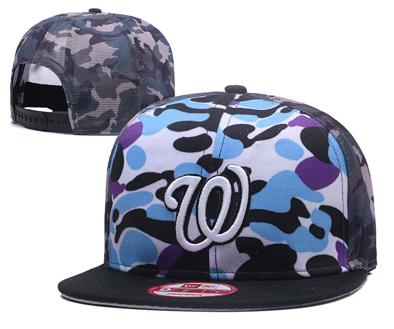 2018 MLB Washington Nationals Snapback hat 426