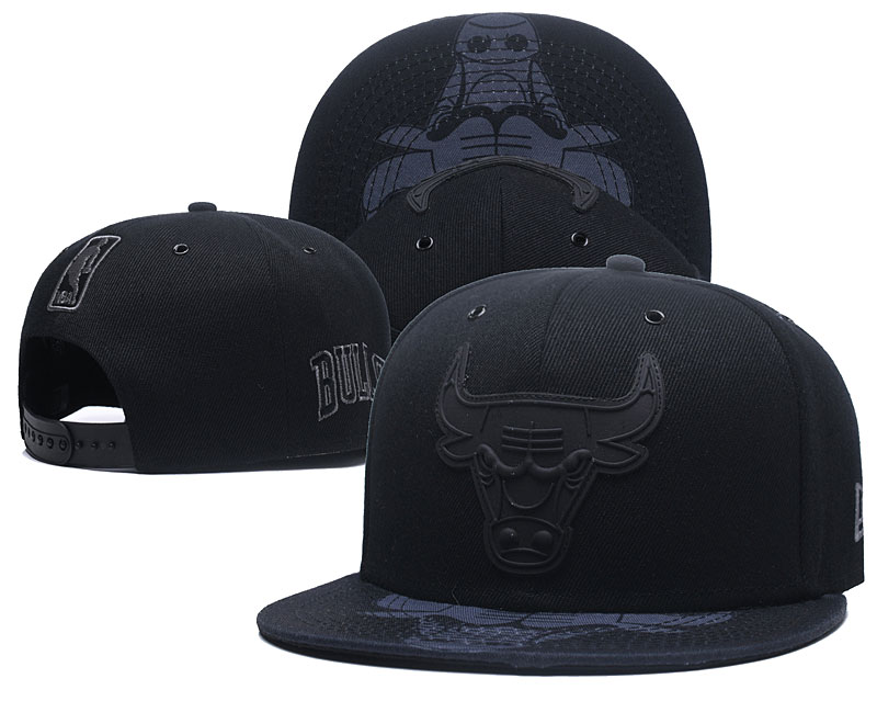 2018 NBA Chicago Bulls Snapback hat 426
