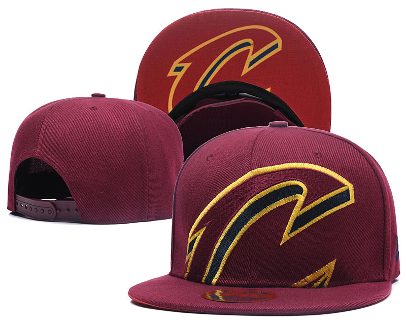 2018 NBA Cleveland Cavaliers Snapback hat LTMY