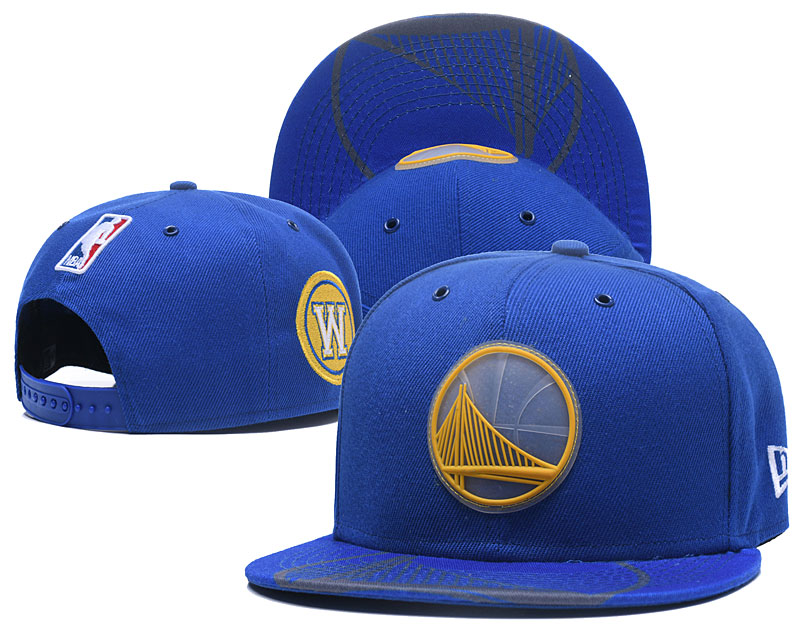 2018 NBA Golden State Warriors Snapback hat 4261