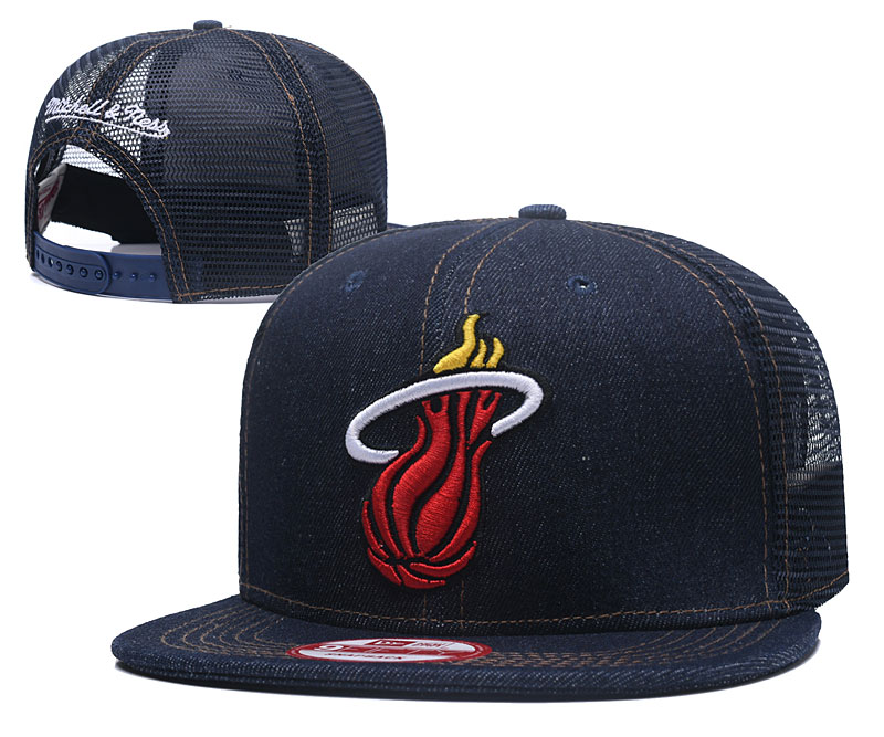 2018 NBA Miami Heat Snapback hat 426