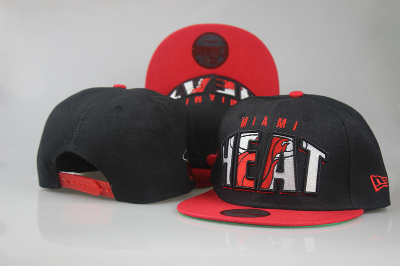 2018 NBA Miami Heat Snapback hat LTMY