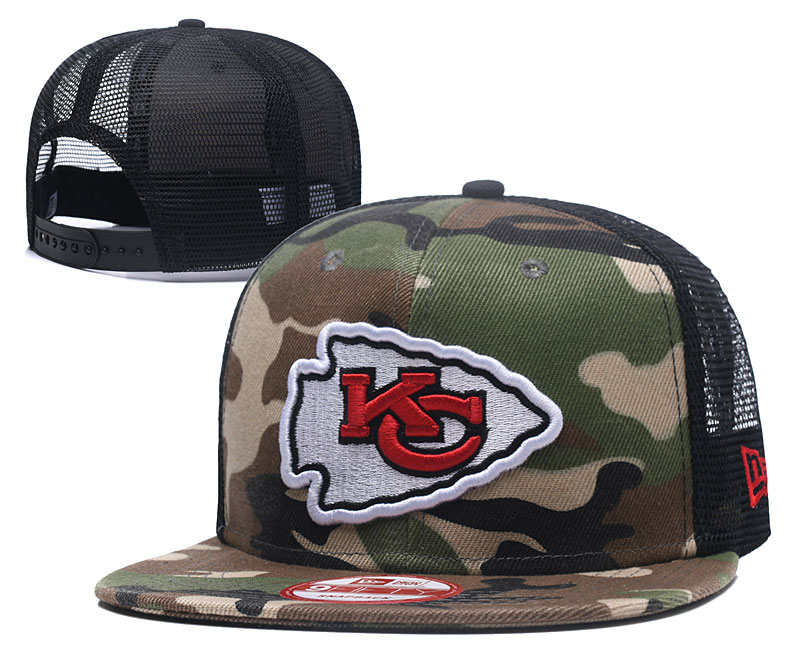 2018 NFL Kansas City Chiefs Snapback hat 426