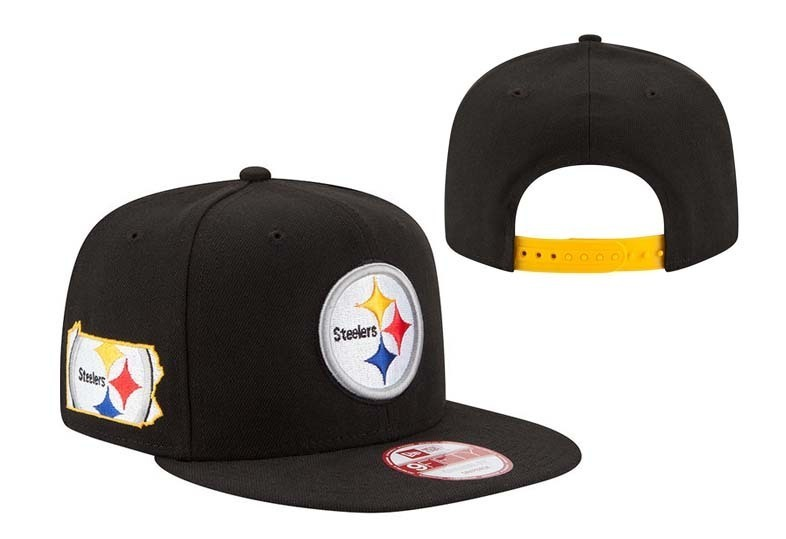 2018 NFL Pittsburgh Steelers Snapback 2 hat LTMY
