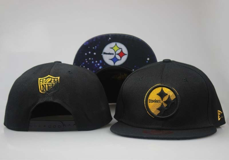 2018 NFL Pittsburgh Steelers Snapback 5 hat LTMY