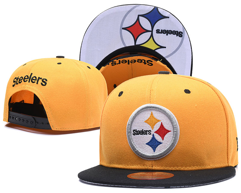 2018 NFL Pittsburgh Steelers Snapback hat 55 LTMY