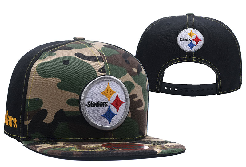 2018 NFL Pittsburgh Steelers Snapback hat LTMY