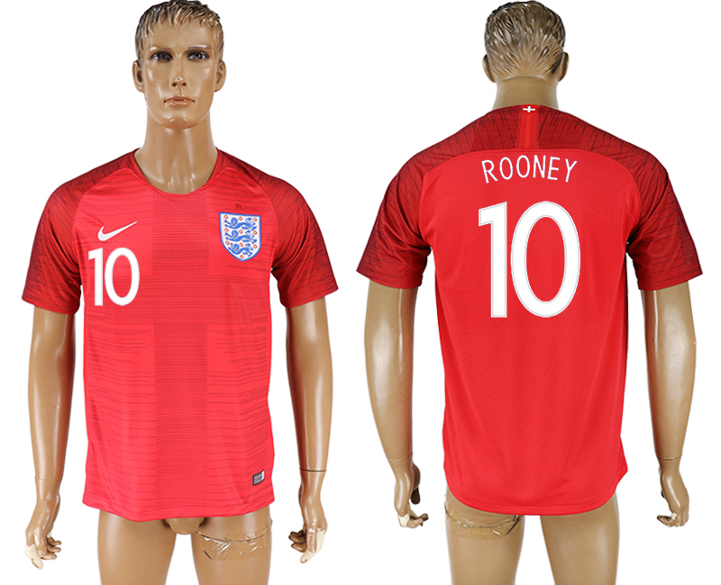 Men 2018 World Cup England away aaa version 10 red soccer jersey1