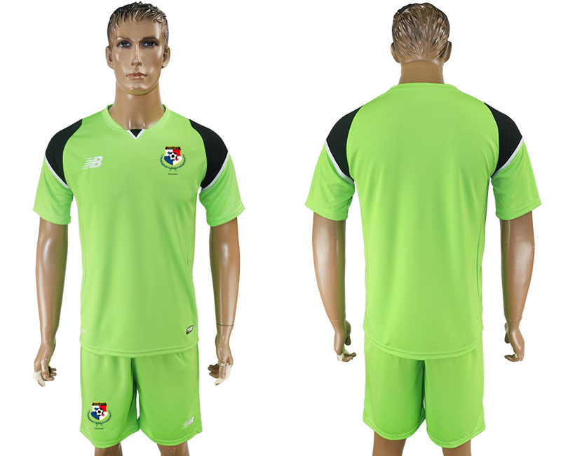 Men 2018 World Cup panama green soccer jersey