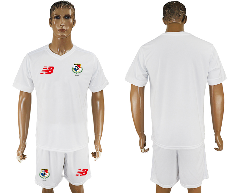 Men 2018 World Cup panama white soccer jersey