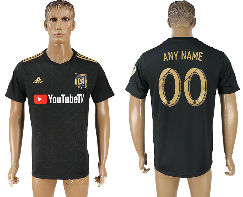 Men 2018-2019 club Los Angeles FC home aaa version customized black soccer jersey