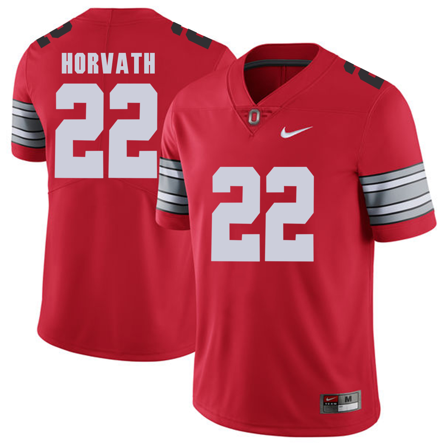 Men Ohio State 22 Horvath Red Customized NCAA Jerseys