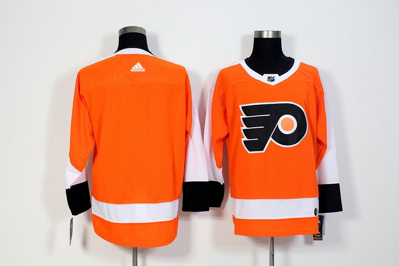 Men Philadelphia Flyers Blank Orange Hockey Stitched Adidas NHL Jerseys