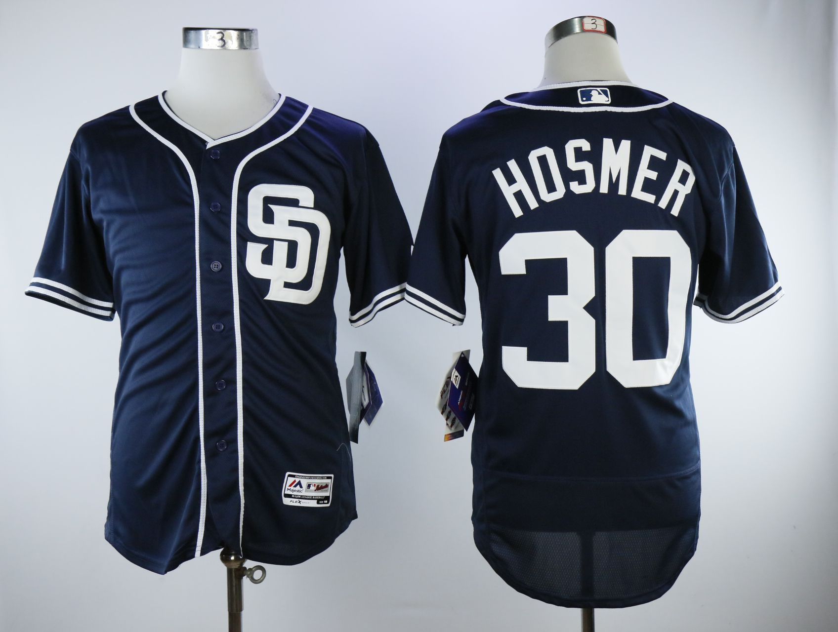 Men San Diego Padres 30 Hosmer Blue Elite MLB Jerseys