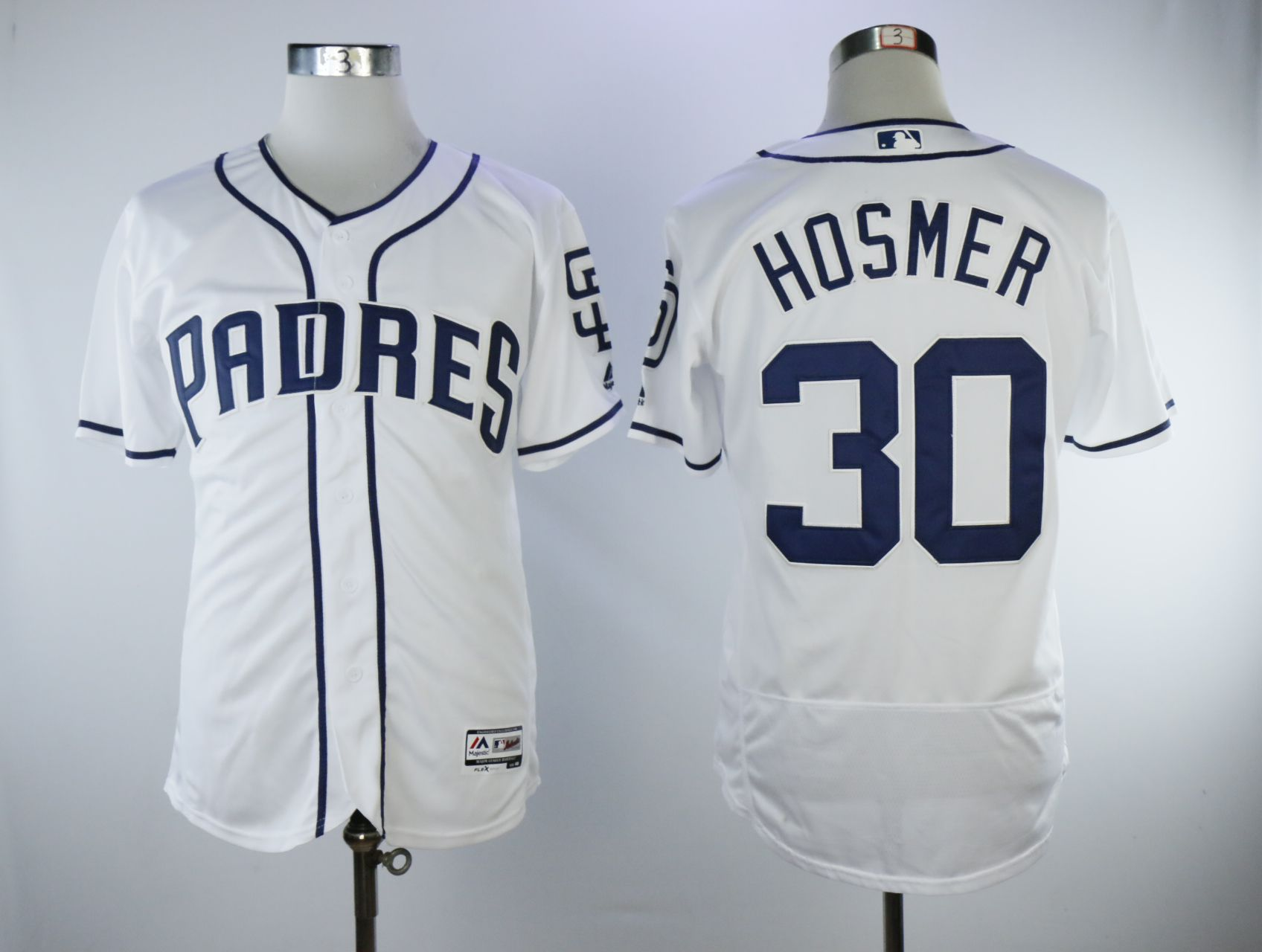 Men San Diego Padres 30 Hosmer White Elite MLB Jerseys