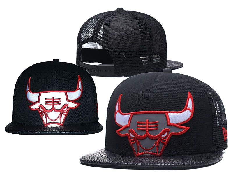 2018 NBA Chicago Bulls Snapback hat 0517