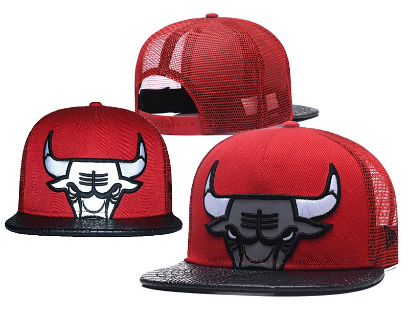 2018 NBA Chicago Bulls Snapback hat 05172