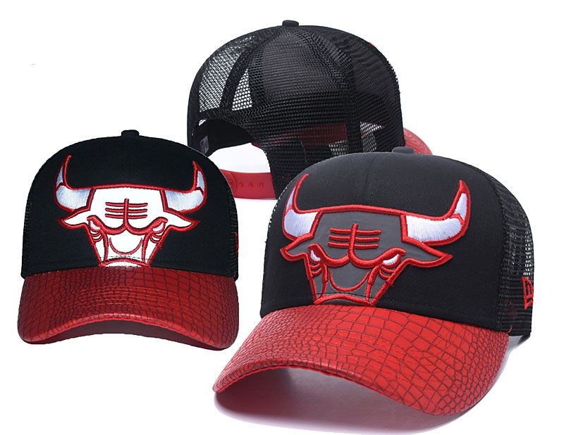 2018 NBA Chicago Bulls Snapback hat 05173