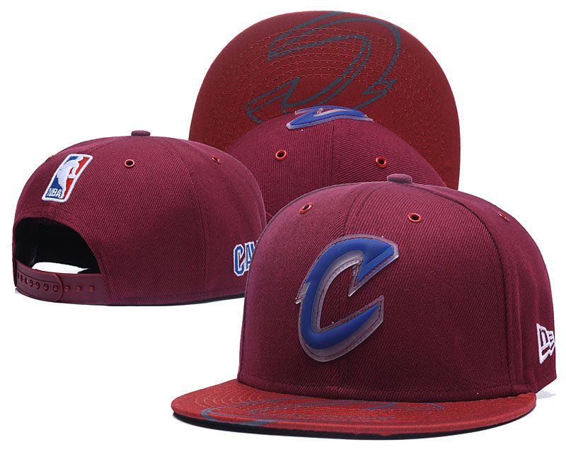 2018 NBA Cleveland Cavaliers Snapback hat 0506