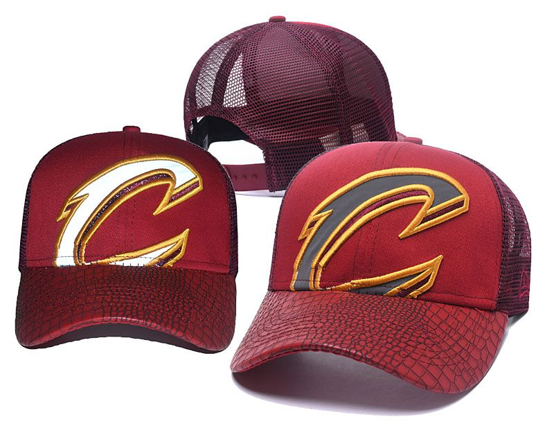 2018 NBA Cleveland Cavaliers Snapback hat 05175