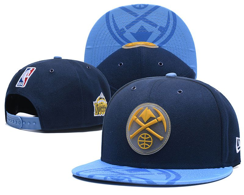 2018 NBA Denver Nuggets Snapback hat 0506