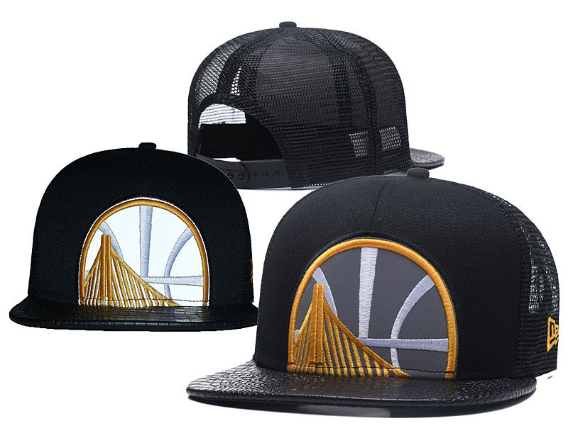 2018 NBA Golden State Warriors Snapback hat 0506
