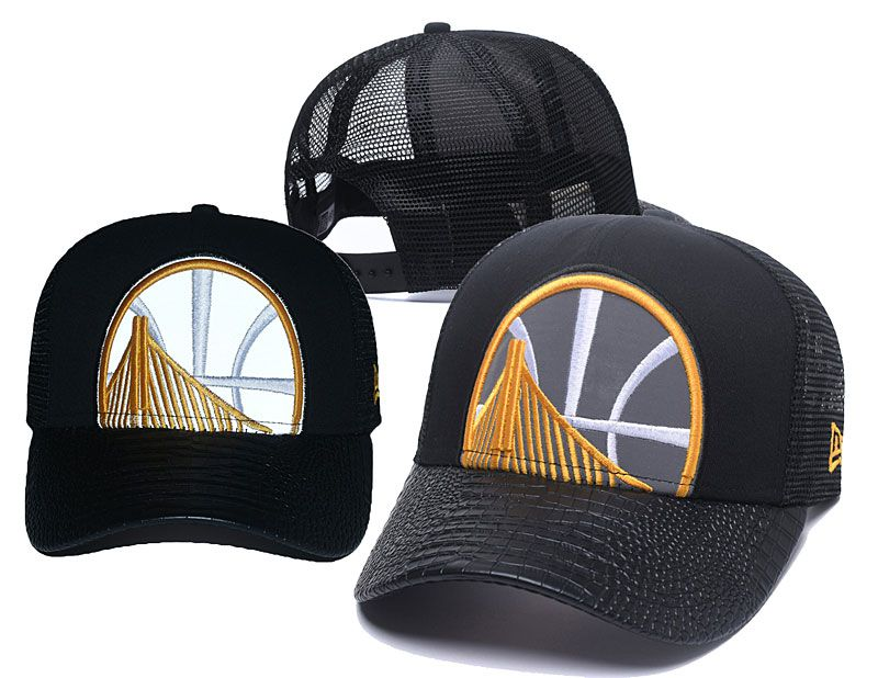 2018 NBA Golden State Warriors Snapback hat 05061