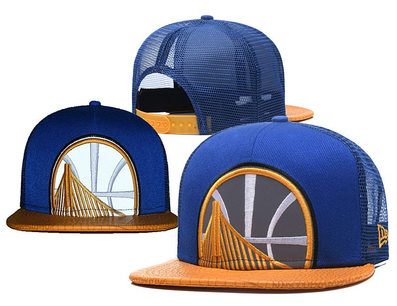 2018 NBA Golden State Warriors Snapback hat 0517