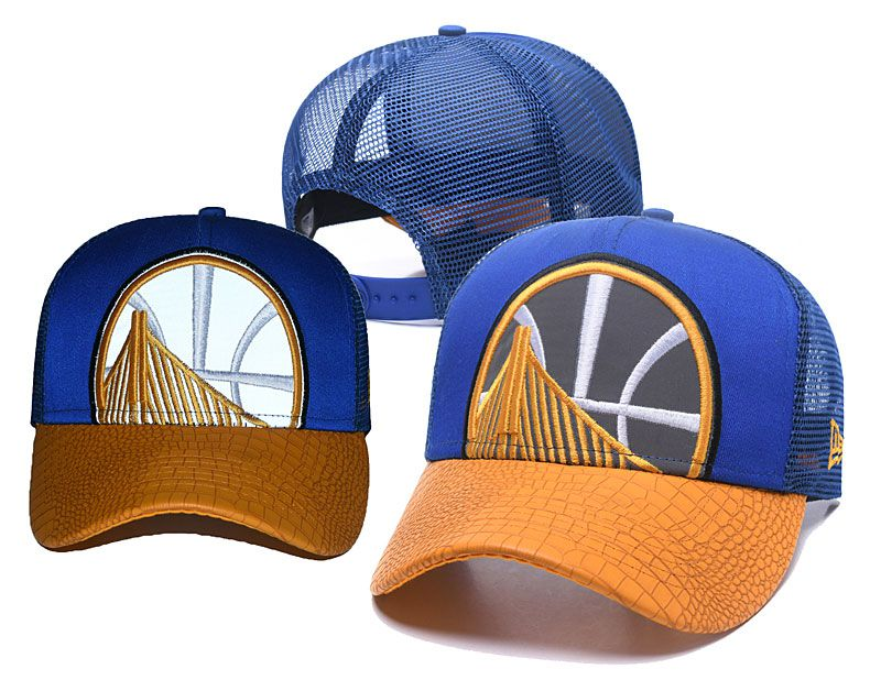 2018 NBA Golden State Warriors Snapback hat 05172