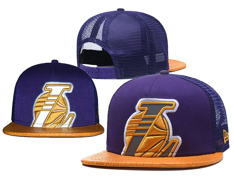 2018 NBA Los Angeles Lakers Snapback hat 0517