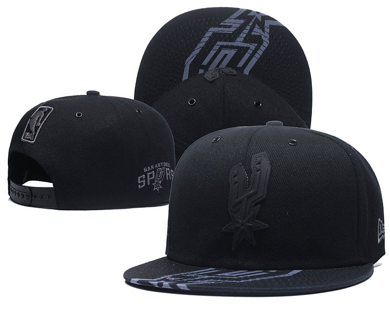 2018 NBA San Antonio Spurs Snapback hat 0506
