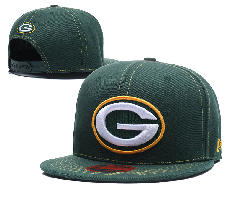 2018 NFL Green Bay Packers Snapback hat LT0505