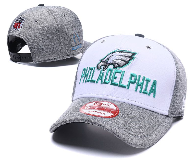 2018 NFL Philadelphia Eagles Snapback hat 05062